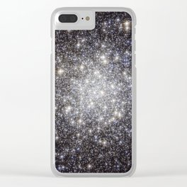 Globular Cluster Messier 56 Clear iPhone Case