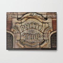 Otto Hillig's Studio Metal Print