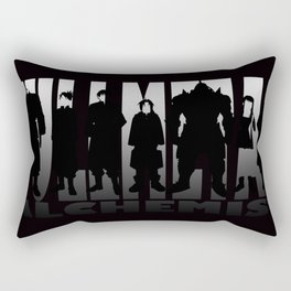 brotherhood silhouette Rectangular Pillow