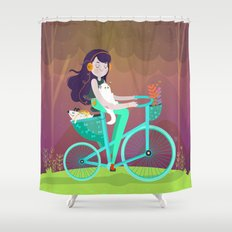 Vacations Shower Curtain