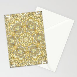 Orange and Yellow Kaleidoscope 1 Stationery Cards