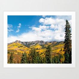 The Cimarron Range Art Print