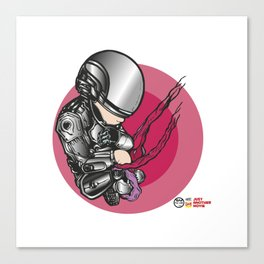 Pal-Robot Canvas Print