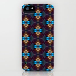 Royal Blue 1 iPhone Case