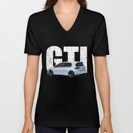 Golf GTI - 2 Door Unisex V-Neck