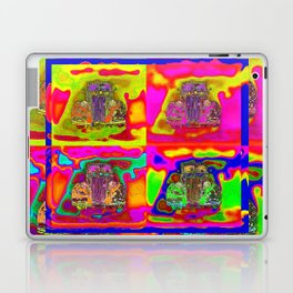 CRAZY NUT OLD CARS Laptop & iPad Skin