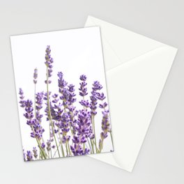 Purple Lavender #1 #decor #art #society6 Stationery Cards