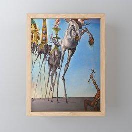 The Temptation of St. Anthony Salvador Dali Framed Mini Art Print