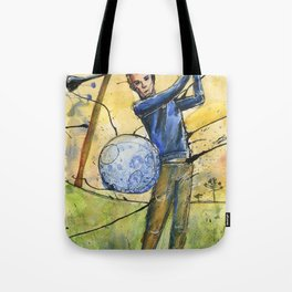 Golfer 1 Tote Bag