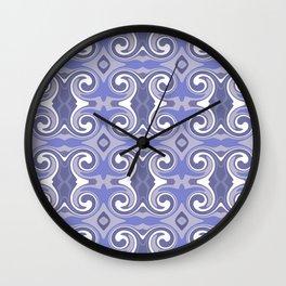 Marrakech Blue Wall Clock