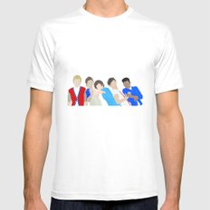 One Direction Mens Fitted Tee White MEDIUM