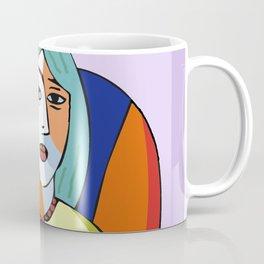 Woman With A Kindle Coffee Mug