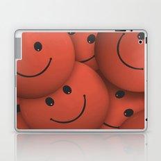 Orange Smileys Laptop & iPad Skin