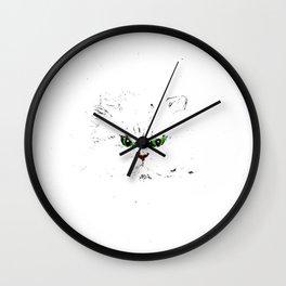 Grumpy Kitty Wall Clock