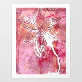 Lovely Lilly Art Print