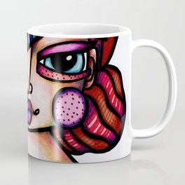 JennyMannoArt Colored Illustration/Frida by JennyMannoArt Coffee Mug