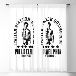 Rocky Boxing Club Blackout Curtain