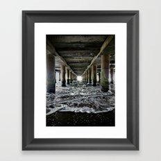 Die Flut kommt Framed Art Print