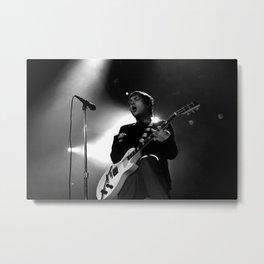 Frank Iero Metal Print