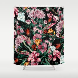 RPE SEAMLESS FLORAL IX Shower Curtain