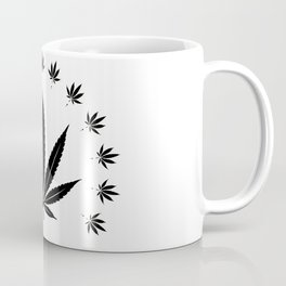 Cannabis leaf   Smoke Weed Pot Marijuana Gift Idea Coffee Mug
