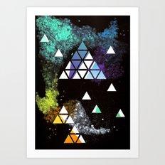 Spaceangles Art Print