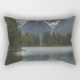 Grand Teton National Park III - Wanderlust Adventure Rectangular Pillow