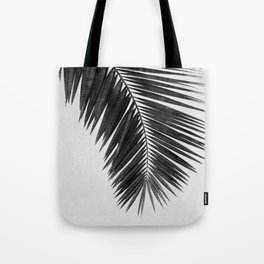 Palm Leaf Black & White I Tote Bag