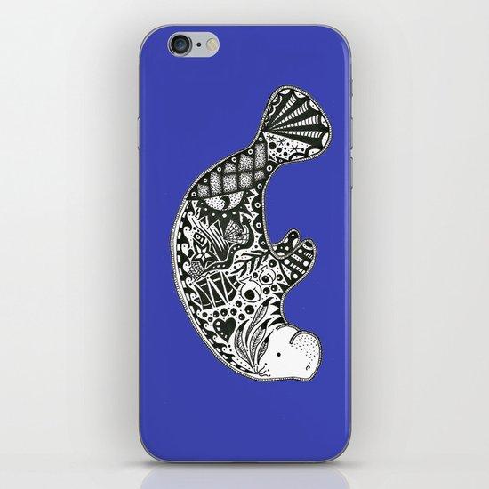 Manatee iPhone & iPod Skin