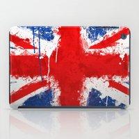 british iPad Cases featuring BRITISH FLAG by Sophie