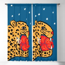 Night Prey Art Print Blackout Curtain