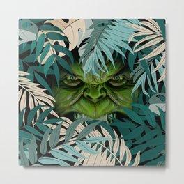 The Green Beast Metal Print