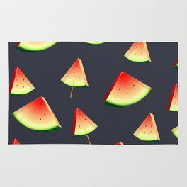 Crystal Watermelon Rug