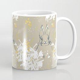 Bunny Portrait M+M Latte by Friztin Coffee Mug