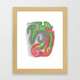 Drawing #117 Framed Art Print