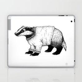 Winter Badger Laptop & iPad Skin