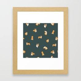 Corgi Print #2 Framed Art Print