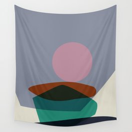 Stacking Pebbles Art #3 Wall Tapestry