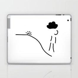 depression grief illness Laptop & iPad Skin