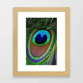 Iridescent Eye Framed Art Print