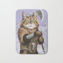 Barbarian Cat Bath Mat