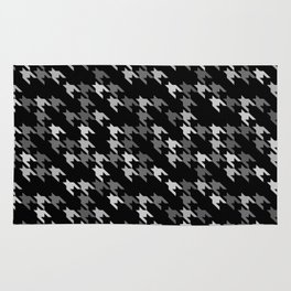 Toothless Black and White Rug