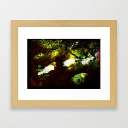 The Alien's Lair Framed Art Print