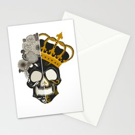The Skull Equals Stationery Cards