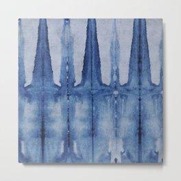 water color stripe Metal Print