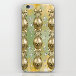 The Joy of Christmas - Gold iPhone Skin