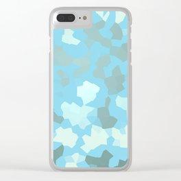 SAFARI TURQUOISE Clear iPhone Case