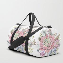 succulent watercolor 9 Duffle Bag
