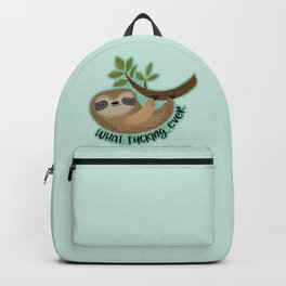 Sloth says... What Fucking Ever Backpack