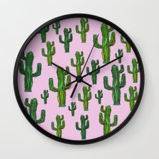 CACTUS  DANCE Wall Clock